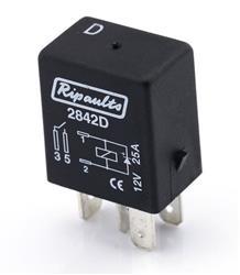 Relay Micro 4 Pin 12V 25A R2842
